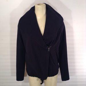 James Perse Shawl Collar Zip Jacket Size 1